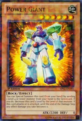 Power Giant - BP02-EN091 - Mosaic Rare - 1st