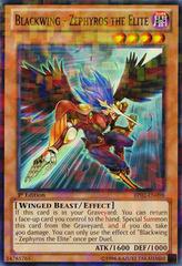 Blackwing - Zephyros the Elite - BP02-EN098 - Mosaic Rare - 1st