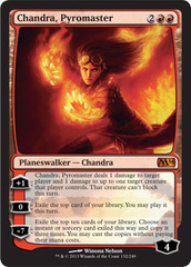 Chandra, Pyromaster - Foil on Channel Fireball