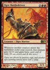 Ogre Battledriver - Duels of the Planeswalkers 2014 PSN Promo