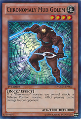 Chronomaly Mud Golem - NUMH-EN003 - Super Rare - 1st Edition on Channel Fireball