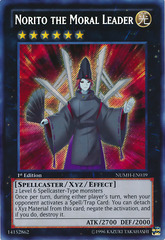 Norito the Moral Leader - NUMH-EN039 - Secret Rare - 1st Edition