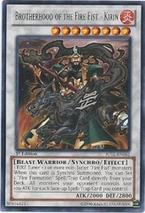 Brotherhood of the Fire Fist - Kirin - JOTL-EN042 - Rare - 1st Edition on Channel Fireball