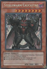 Steelswarm Caucastag - HA05-EN050 - Secret Rare - Unlimited Edition