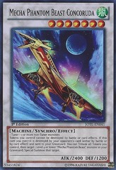 Mecha Phantom Beast Concoruda - JOTL-EN041 - Super Rare - 1st Edition