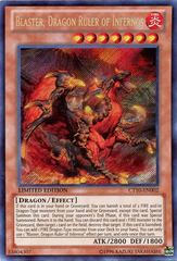 Blaster, Dragon Ruler of Infernos - CT10-EN002 - Secret Rare - Limited Edition on Channel Fireball