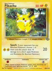 Pikachu - 60/64 - Common - Unlimited Edition