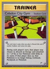 Celadon City Gym - 107/132 - Uncommon - Unlimited Edition