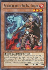 Brotherhood of the Fire Fist - Leopard - LTGY-EN027 - Common - Unlimited Edition