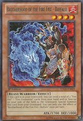 Brotherhood of the Fire Fist - Buffalo - LTGY-EN029 - Rare - Unlimited Edition