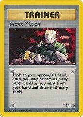 Secret Mission - 118/132 - Uncommon - Unlimited Edition