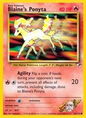 Blaine's Ponyta - 63/132 - Common - Unlimited Edition