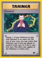 Giovanni - 104/132 - Rare - Unlimited Edition