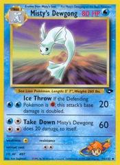 Misty's Dewgong - 54/132 - Uncommon - Unlimited Edition