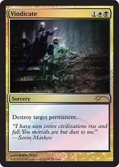 Vindicate - Foil DCI Judge Promo