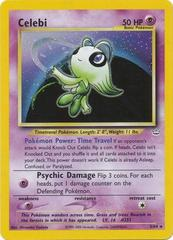 Celebi - 3/64 - Holo Rare - Unlimited Edition