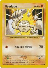 Geodude - 44/64 - Common - Unlimited Edition