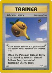 Balloon Berry - 60/64 - Uncommon - Unlimited Edition
