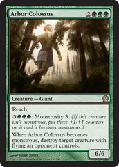 Arbor Colossus - Foil on Channel Fireball