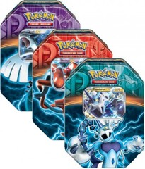 Black & White Set of 3 Fall 2013 Legendary Tins (Lugia, Deoxys, & Thundurus)