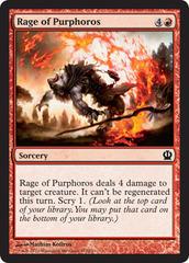 Rage of Purphoros - Foil