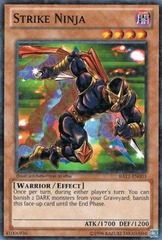Strike Ninja - BATT-EN003 - Starfoil Rare - Unlimited Edition on Channel Fireball