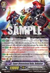 Super Dimensional Robo, Daikaiser TD12/001EN - TD