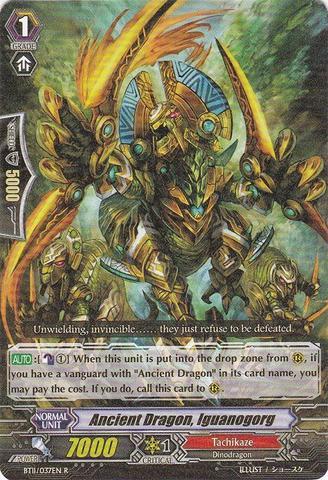 Ancient Dragon, Iguanogorg - BT11/037EN - R