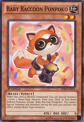 Baby Raccoon Ponpoko - SHSP-EN014 - Common - 1st Edition