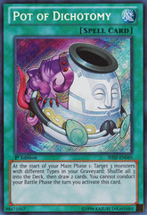Pot of Dichotomy - SHSP-EN065 - Secret Rare - 1st Edition