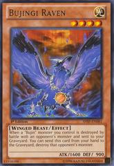 Bujingi Raven - SHSP-EN081 - Rare - 1st Edition