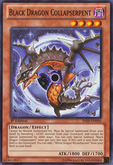 Black Dragon Collapserpent - SHSP-EN096 - Common - 1st Edition on Channel Fireball
