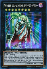 Number 88: Gimmick Puppet of Leo - CT10-EN013 - Super Rare - Limited Edition on Channel Fireball