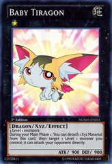 Baby Tiragon - NUMH-EN051 - Super Rare - Unlimited on Channel Fireball
