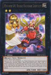 Number 64: Ronin Raccoon Sandayu - SHSP-EN051 - Rare - Unlimited Edition