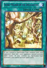 Secret Village of the Spellcasters - Purple - DL14-EN013 - Rare - Unlimited Edition
