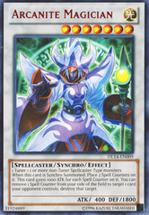 Arcanite Magician - Red - DL14-EN009 - Rare - Unlimited Edition