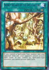 Secret Village of the Spellcasters - Blue - DL14-EN013 - Rare - Unlimited Edition