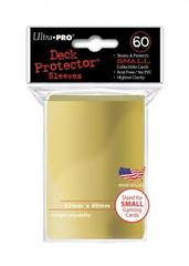 Ultra Pro Small Deck Protectors - Gold (60ct)