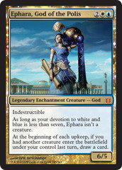 Ephara, God of the Polis - Foil on Channel Fireball