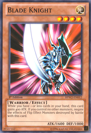 Blade Knight - BPW2-EN012 - Common - 1st Edition
