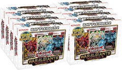 Yu-Gi-Oh Battle Pack 2: War of the Giants Round 2 Display Box of 8 Kits
