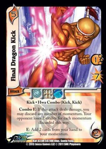 Final Dragon Kick