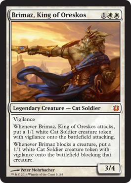 Brimaz, King of Oreskos - Foil