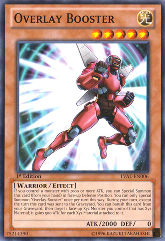 Overlay Booster - LVAL-EN006 - Common - 1st Edition