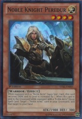 Noble Knight Peredur - LVAL-EN085 - Super Rare - 1st Edition