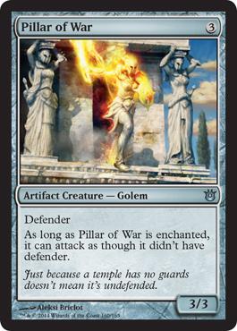 Pillar of War - Foil