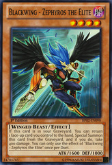 Blackwing - Zephyros the Elite - BP02-EN098 - Common - Unlimited