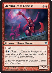 Stormcaller of Keranos - Foil