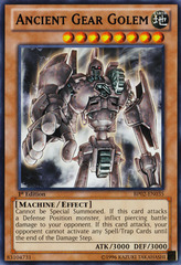 Ancient Gear Golem - BP02-EN035 - Rare - Unlimited on Channel Fireball